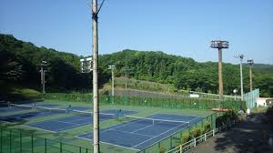 法政大学テニスコート