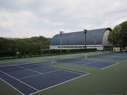 法政大学テニスコート1